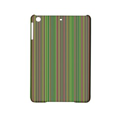 Green Lines Ipad Mini 2 Hardshell Cases by Valentinaart