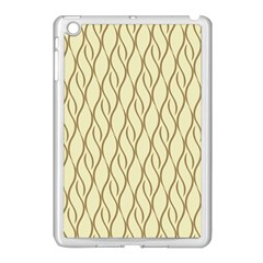 Elegant Pattern Apple Ipad Mini Case (white) by Valentinaart