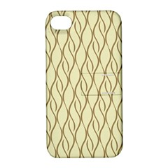 Elegant Pattern Apple Iphone 4/4s Hardshell Case With Stand