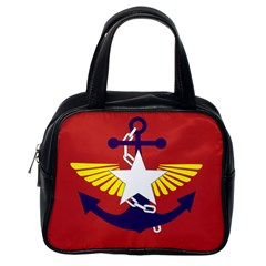 Flag Of The Myanmar Armed Forces Classic Handbags (one Side) by abbeyz71
