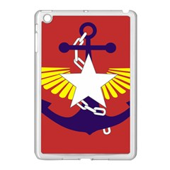 Flag Of The Myanmar Armed Forces Apple Ipad Mini Case (white) by abbeyz71