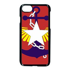 Flag Of The Myanmar Armed Forces Apple Iphone 7 Seamless Case (black) by abbeyz71
