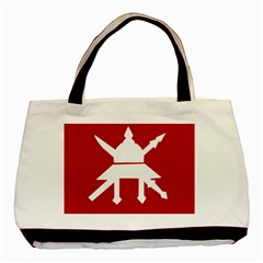 Flag Of The Myanmar Army Basic Tote Bag (two Sides) by abbeyz71