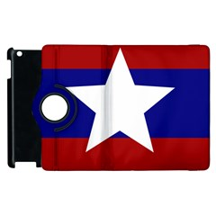 Flag Of The Bureau Of Special Operations Of Myanmar Army Apple Ipad 2 Flip 360 Case by abbeyz71