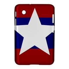 Flag Of The Bureau Of Special Operations Of Myanmar Army Samsung Galaxy Tab 2 (7 ) P3100 Hardshell Case  by abbeyz71