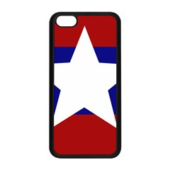 Flag Of The Bureau Of Special Operations Of Myanmar Army Apple Iphone 5c Seamless Case (black) by abbeyz71