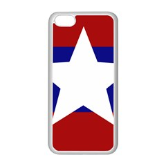 Flag Of The Bureau Of Special Operations Of Myanmar Army Apple Iphone 5c Seamless Case (white) by abbeyz71