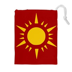 Flag Of Myanmar Army Northeastern Command Drawstring Pouches (extra Large) by abbeyz71