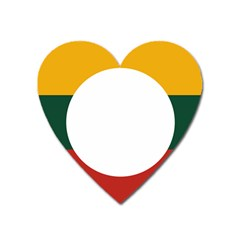 Flag Of Myanmar Shan State Heart Magnet by abbeyz71