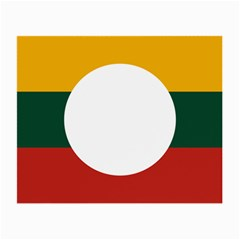 Flag Of Myanmar Shan State Small Glasses Cloth (2-side) by abbeyz71