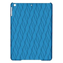 Blue Pattern Ipad Air Hardshell Cases by Valentinaart