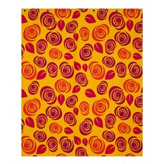 Orange Roses Shower Curtain 60  X 72  (medium)