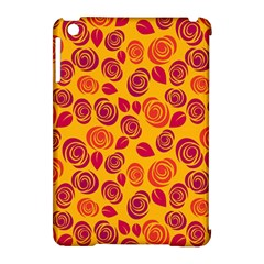 Orange Roses Apple Ipad Mini Hardshell Case (compatible With Smart Cover) by Valentinaart