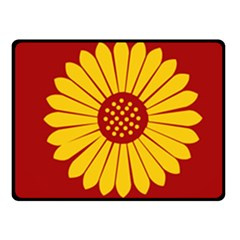 Flag Of Myanmar Army Eastern Command Fleece Blanket (small) by abbeyz71
