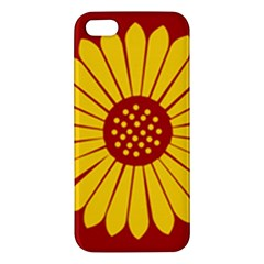 Flag Of Myanmar Army Eastern Command Apple Iphone 5 Premium Hardshell Case by abbeyz71