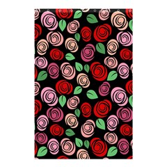 Red And Pink Roses Shower Curtain 48  X 72  (small)  by Valentinaart