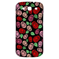 Red And Pink Roses Samsung Galaxy S3 S Iii Classic Hardshell Back Case