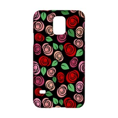 Red And Pink Roses Samsung Galaxy S5 Hardshell Case  by Valentinaart