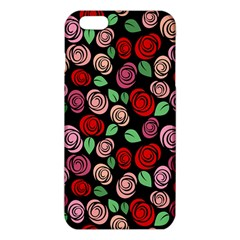 Red And Pink Roses Iphone 6 Plus/6s Plus Tpu Case by Valentinaart