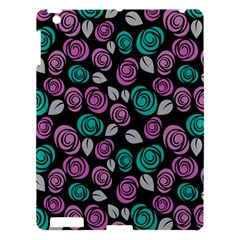 Roses Pattern Apple Ipad 3/4 Hardshell Case by Valentinaart