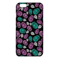 Roses Pattern Iphone 6 Plus/6s Plus Tpu Case by Valentinaart