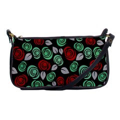 Decorative Floral Pattern Shoulder Clutch Bags