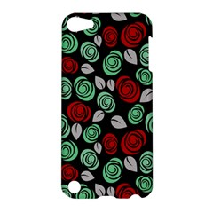 Decorative Floral Pattern Apple Ipod Touch 5 Hardshell Case by Valentinaart