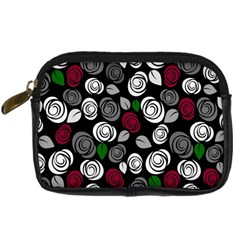 Elegant Roses Design Digital Camera Cases by Valentinaart