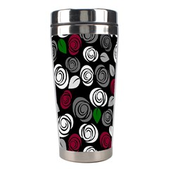 Elegant Roses Design Stainless Steel Travel Tumblers by Valentinaart