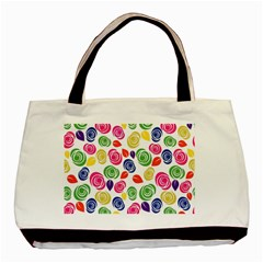 Colorful Roses Basic Tote Bag by Valentinaart