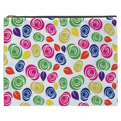 Colorful Roses Cosmetic Bag (xxxl)