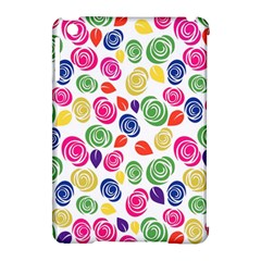 Colorful Roses Apple Ipad Mini Hardshell Case (compatible With Smart Cover) by Valentinaart