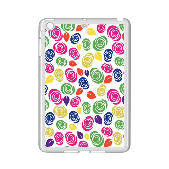 Colorful roses iPad Mini 2 Enamel Coated Cases