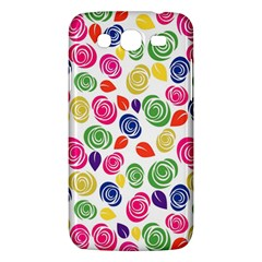 Colorful Roses Samsung Galaxy Mega 5 8 I9152 Hardshell Case  by Valentinaart