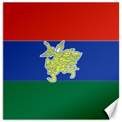 Flag Of Myanmar Kayah State Canvas 20  X 20   by abbeyz71