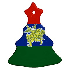 Flag Of Myanmar Kayah State Ornament (christmas Tree)  by abbeyz71