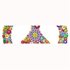 Groovy Flower Clip Art Large Bar Mats