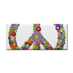 Groovy Flower Clip Art Cosmetic Storage Cases