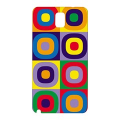 Kandinsky Circles Samsung Galaxy Note 3 N9005 Hardshell Back Case by Nexatart