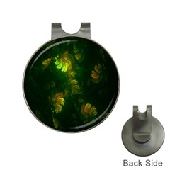 Light Fractal Plants Hat Clips With Golf Markers by Nexatart