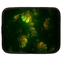 Light Fractal Plants Netbook Case (xxl)  by Nexatart