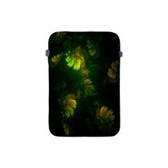 Light Fractal Plants Apple Ipad Mini Protective Soft Cases by Nexatart