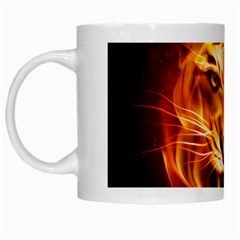 Tiger White Mugs by Nexatart