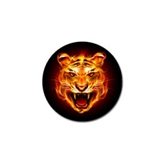 Tiger Golf Ball Marker