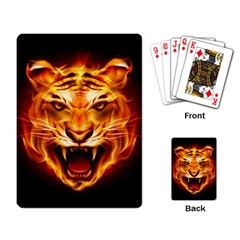 Tiger Playing Card