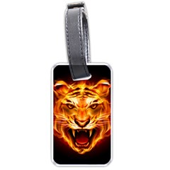 Tiger Luggage Tags (one Side)  by Nexatart