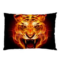 Tiger Pillow Case (two Sides)