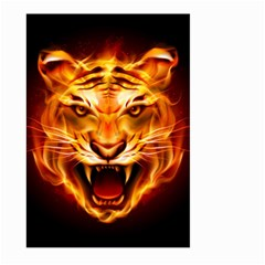 Tiger Large Garden Flag (two Sides) by Nexatart