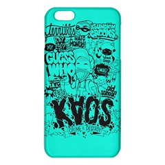 Typography Illustration Chaos Iphone 6 Plus/6s Plus Tpu Case by Nexatart