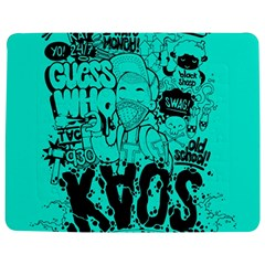 Typography Illustration Chaos Jigsaw Puzzle Photo Stand (rectangular)